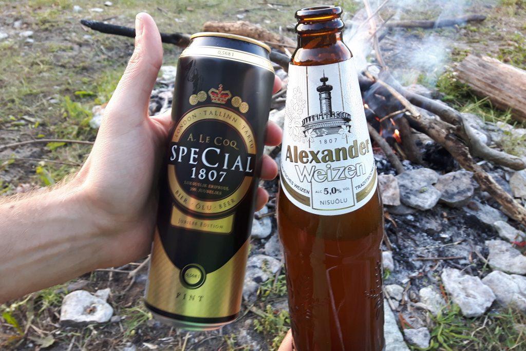 Degustacja estońskiego piwa w oparach absurdu.