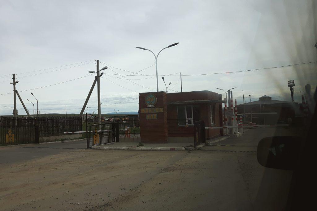 Spektakularny granica rosyjsko-mongolska.