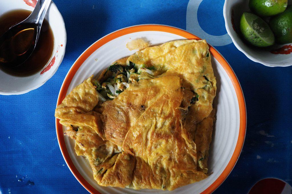 Yellow Pancake Luang Prabang