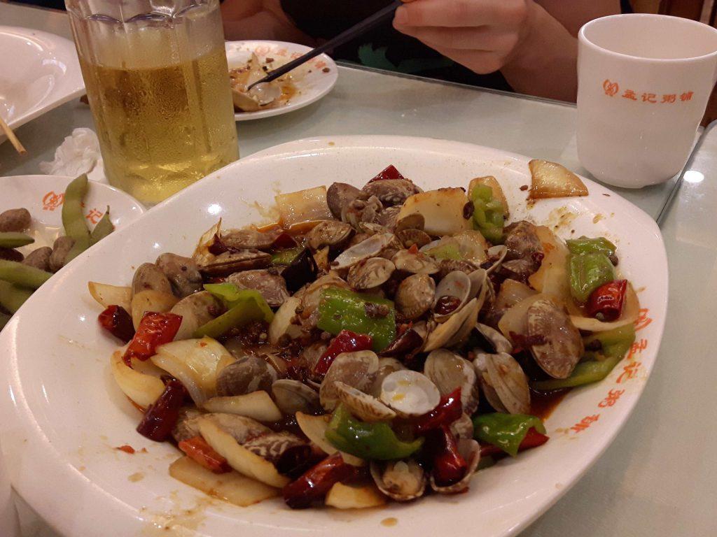 Chińskie jedzenie.