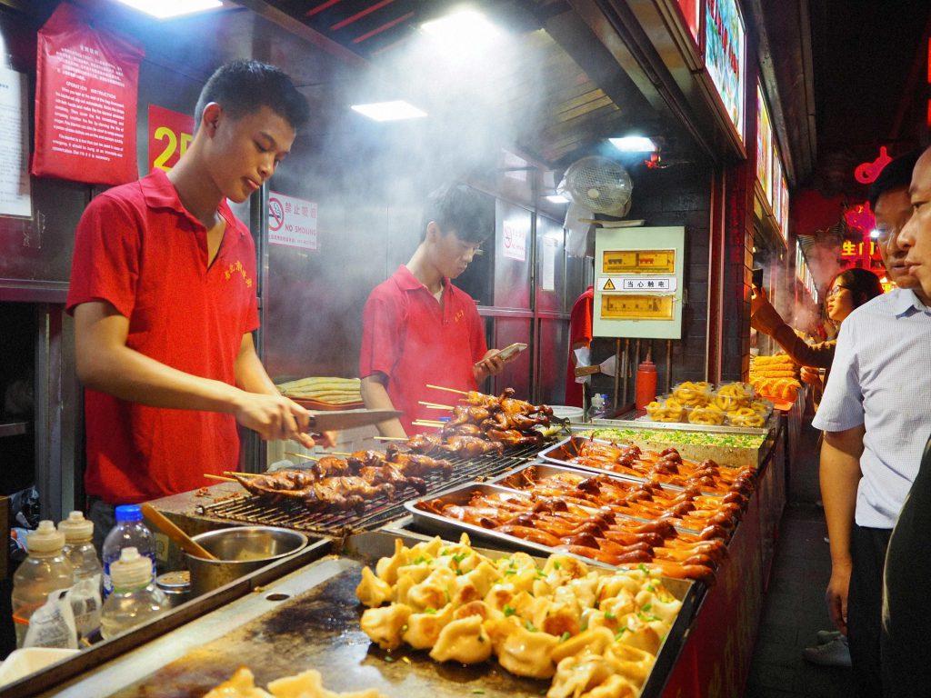 Jedzenie w Chinach.